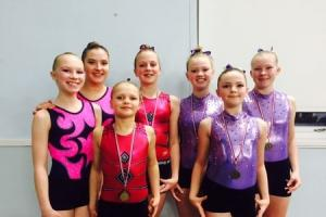 Ilkley Gymnasts are putting on a good show