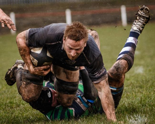 Declan Dunn faces a late test on his cut eye, suffered in the derby win over Otley