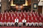 Steeton Male Voice Choir who are performing seven times through the autumn. Picture submitted by choir.