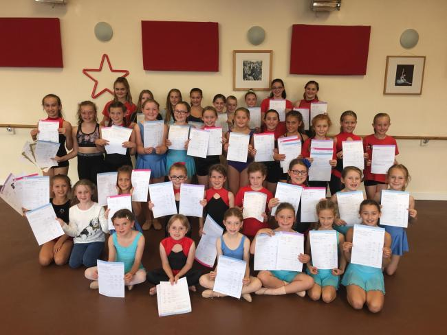 Pupils at Starlight Academy celebrate exam success