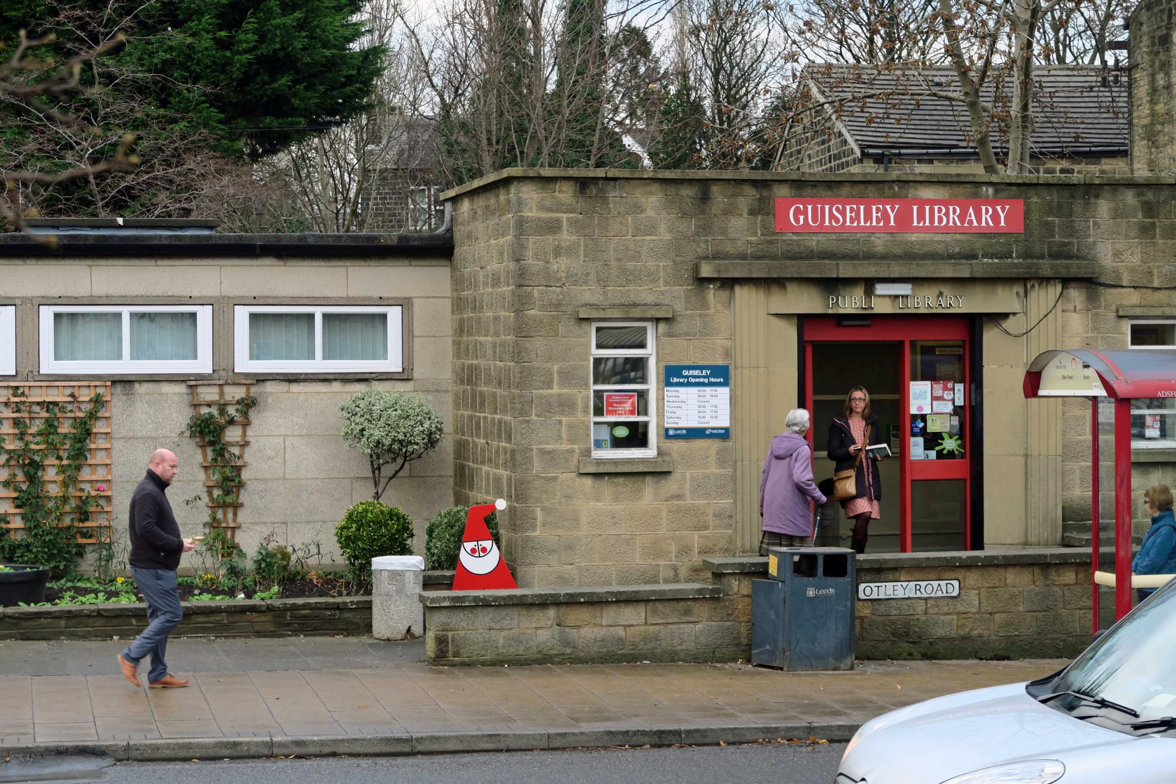 Guiseley Library is to be moved