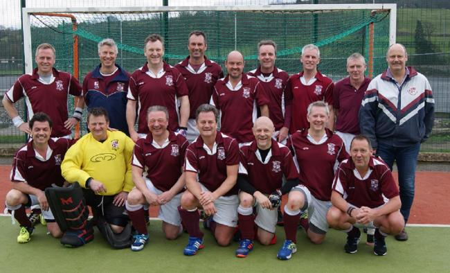 Ben Rhydding over-50s men, who have reached the final of the National Veterans' Masters Cup against Reading at Lee Valley