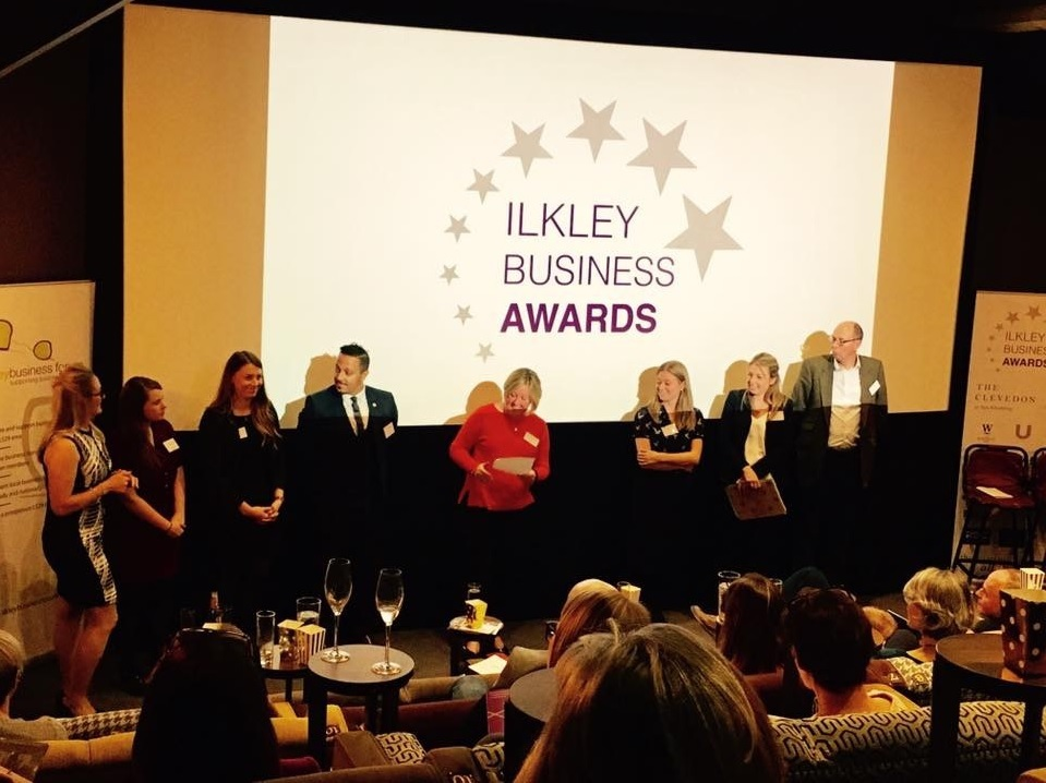 The launch of last year's Ilkley Business Awards which was held at Ilkley Cinema