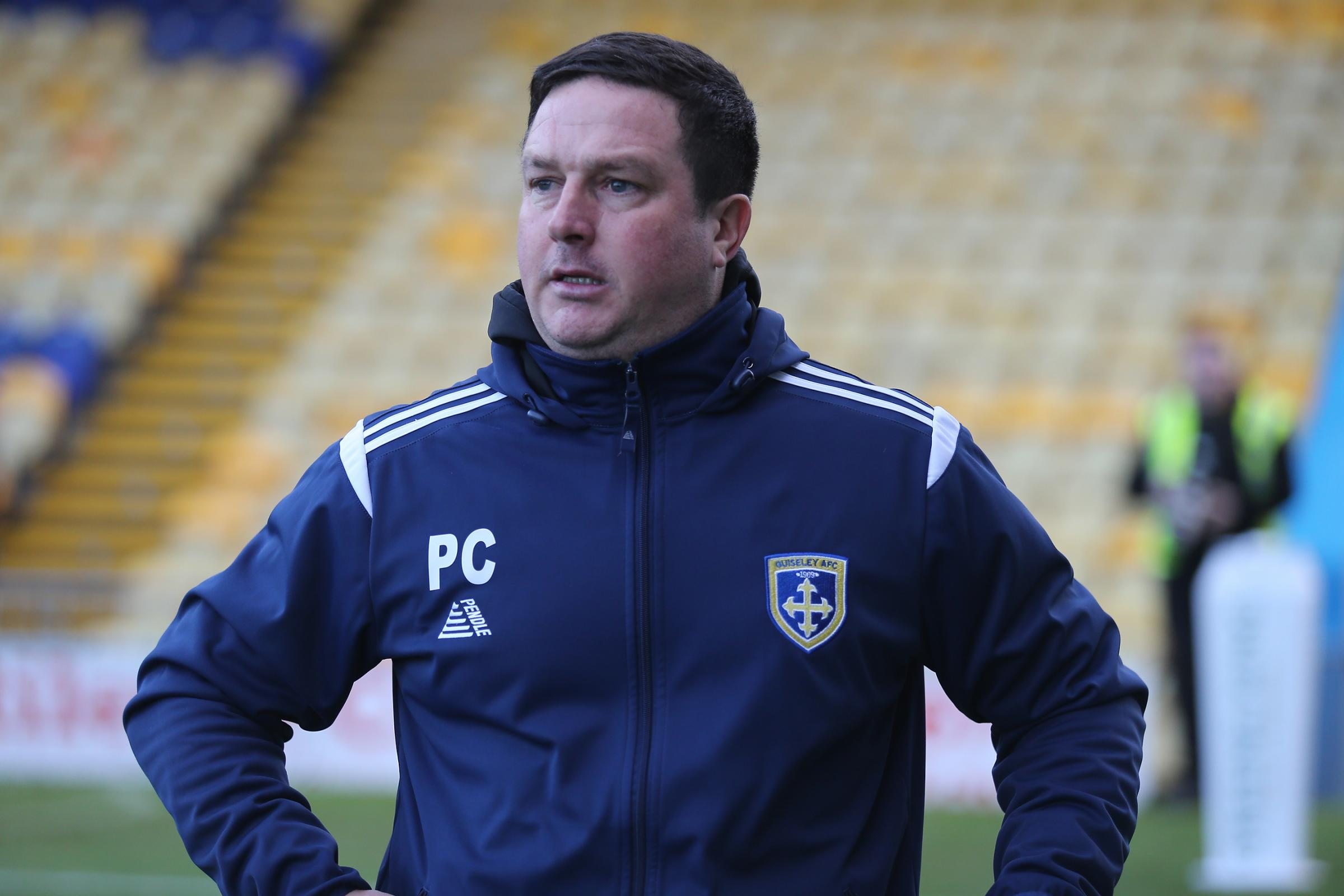 Guiseley manager Paul Cox is planning signings