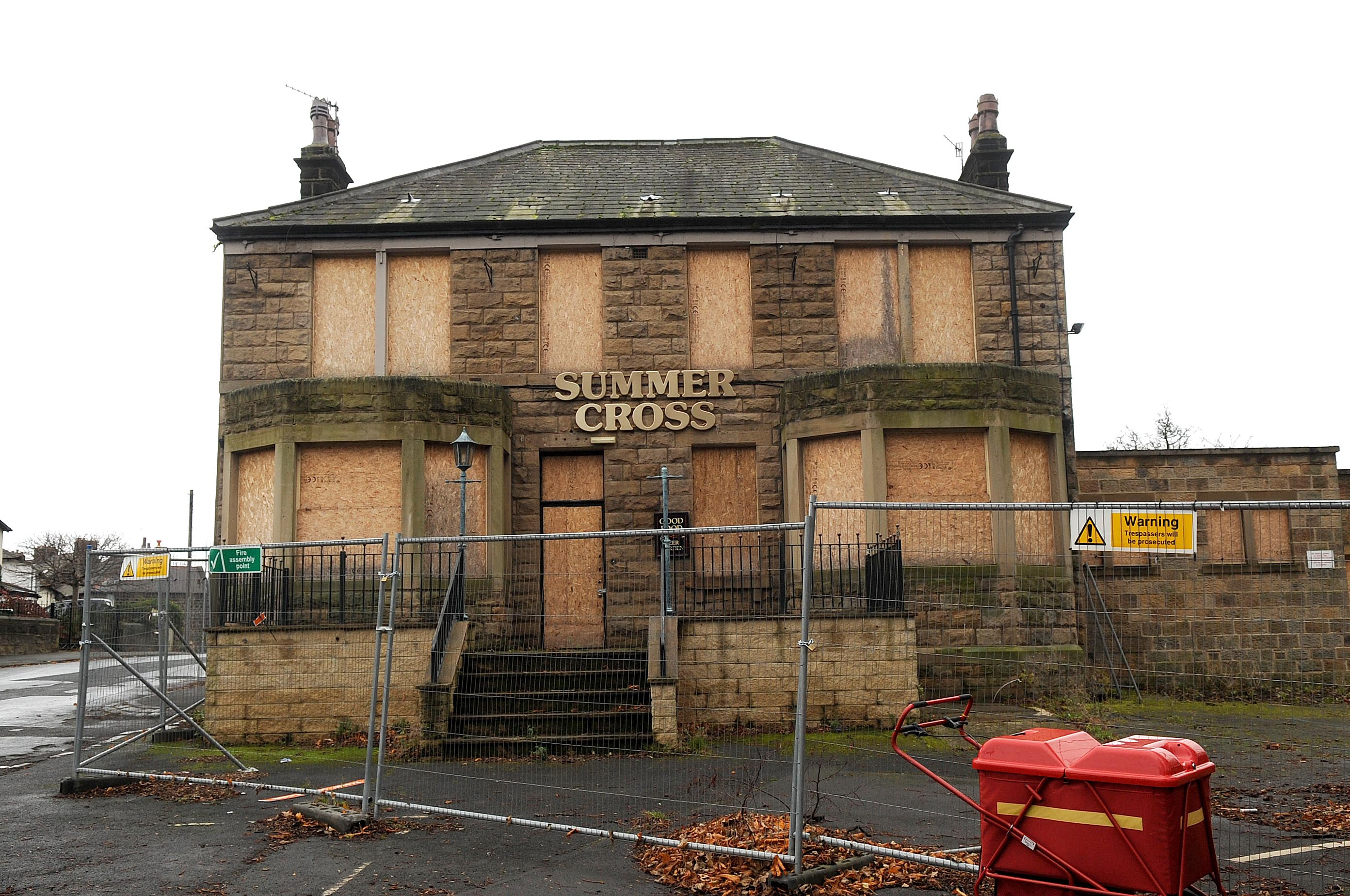 The former Summercross Pub in Otley