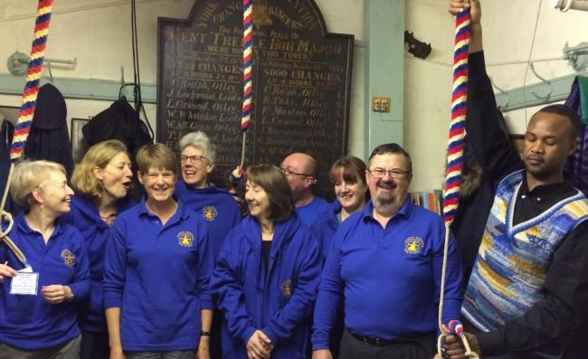 Looking forward to a weekend of double celebration - Otley All Saints Bellringers