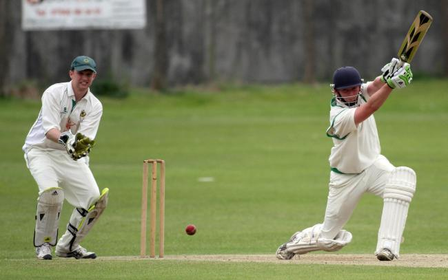 Max Davidson scored 52 not out for leaders Keighley