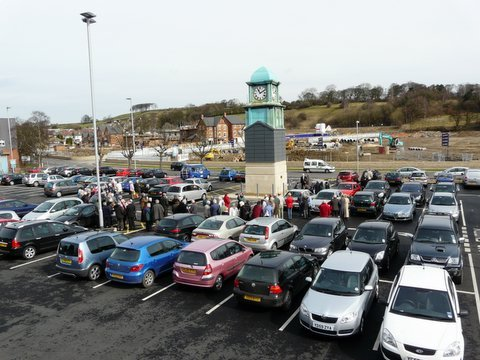 Netherfield Road car park, in Guiseley, is set to be redeveloped into a multi-storey facility