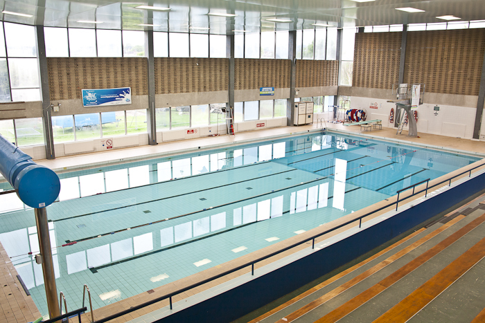 The pool at Aireborough Leisure Centre - now not set to be reopened until 'late autumn', 2018