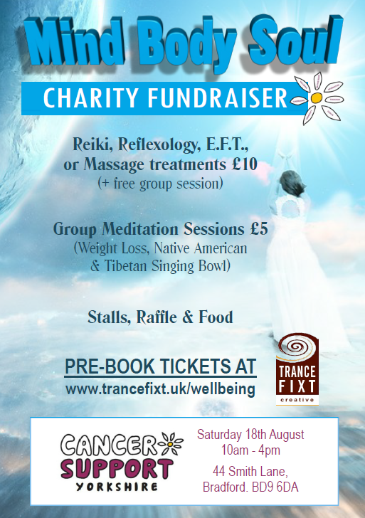 Mind Body Soul fundraiser for Cancer Support