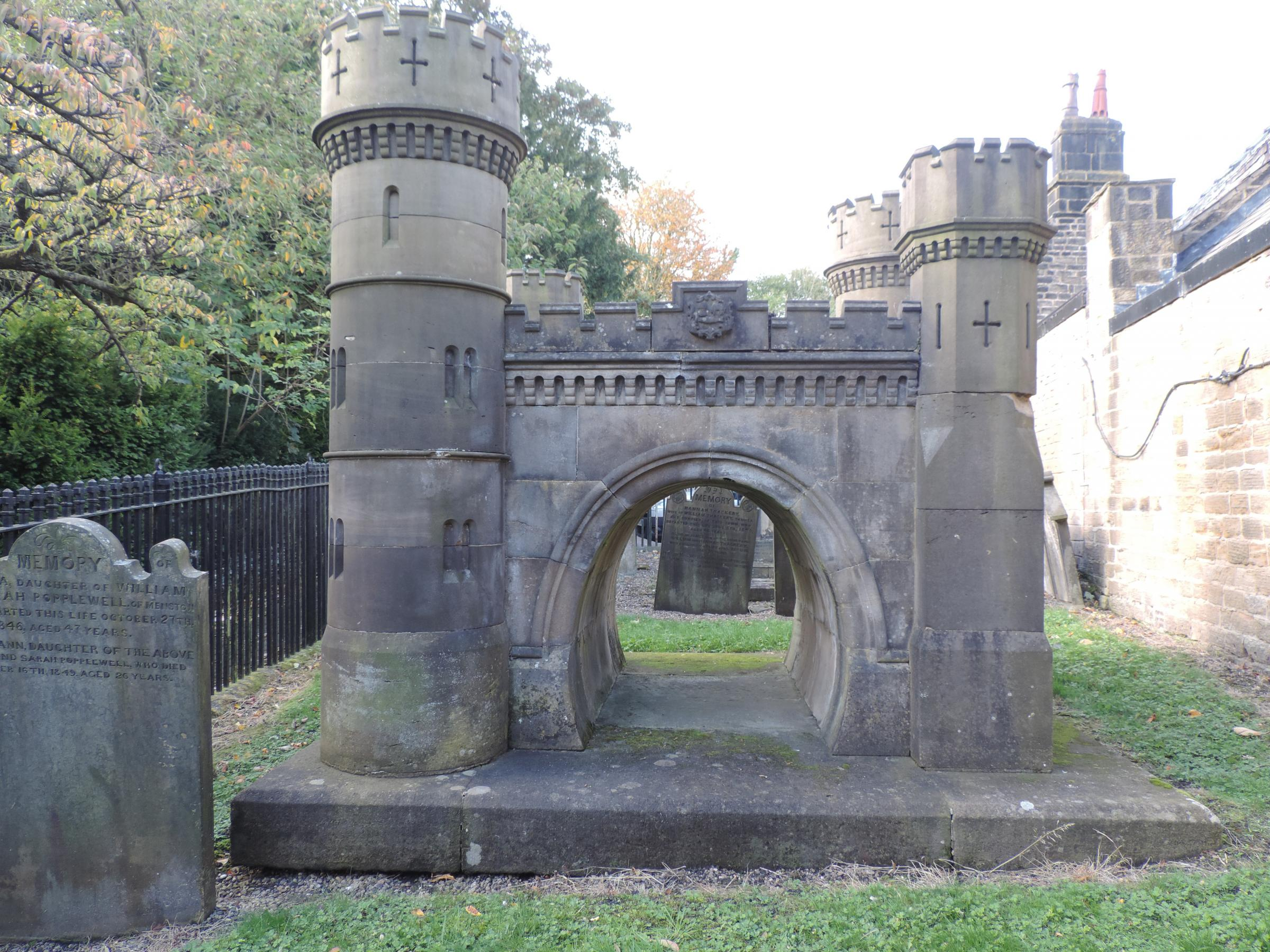 The Navvies Memorial in Otley