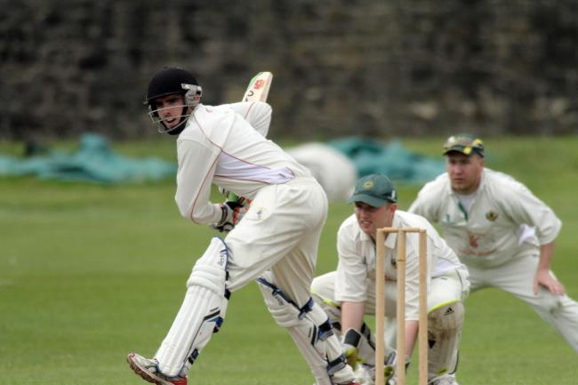 Max Davidson top scored for leaders Keighley with 31 Picture: Charlie Perry