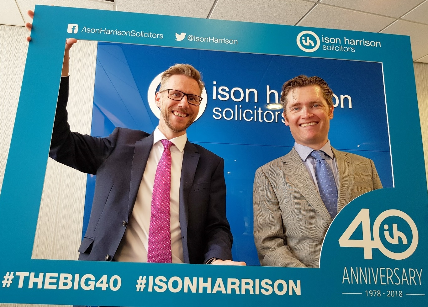 Ison Harrison – from left to right – Jonathan Wearing (Managing Partner) and Dominic Mackenzie (Head of Wills and Probate)