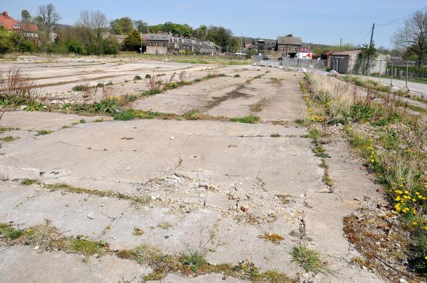 The land at the former Bridge End cattle market site in Otley.