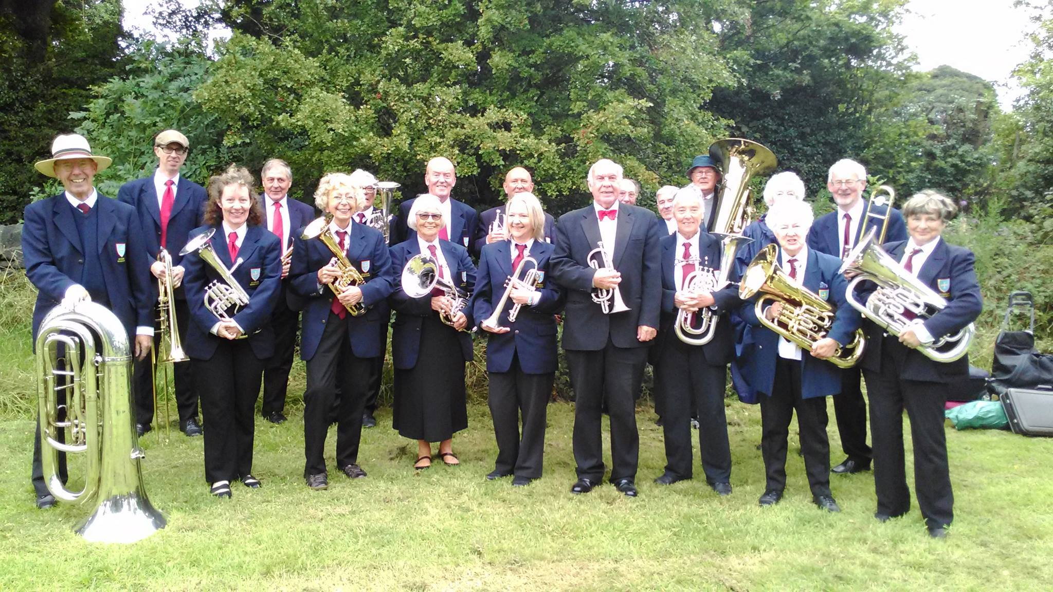 Guiseley Brass Band.