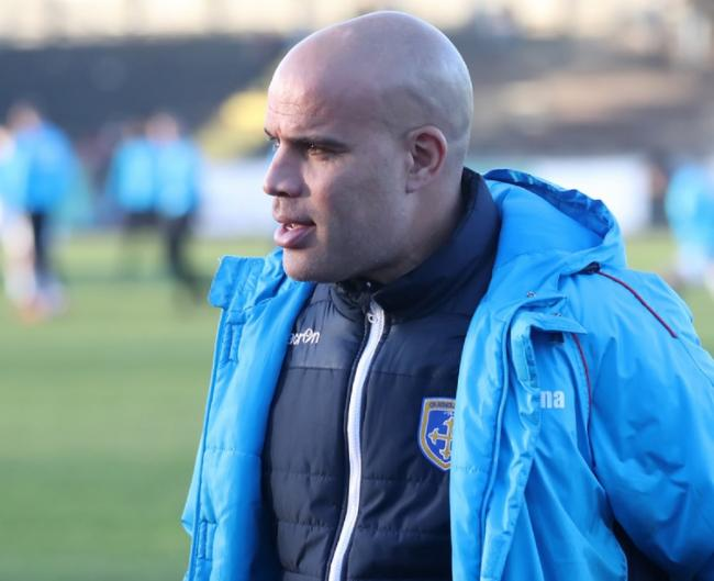 Guiseley joint-manager Marcus Bignot says his role within the England coaching set-up can only benefit his club. Picture: Alex Daniel Photography