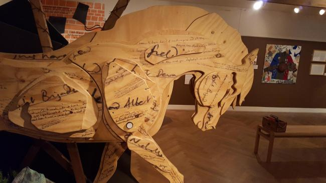 Michael's Morpurgo's books are being brought to life in an exhibition.