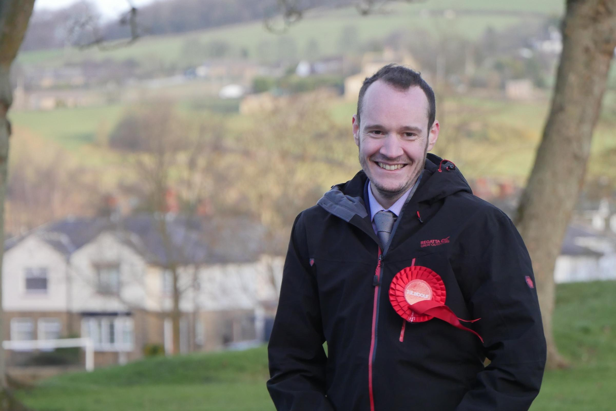 Chris Hayden who has been chosen to contest the Wharfedale seat for Labour in the upcoming Bradford Council Elections in early May