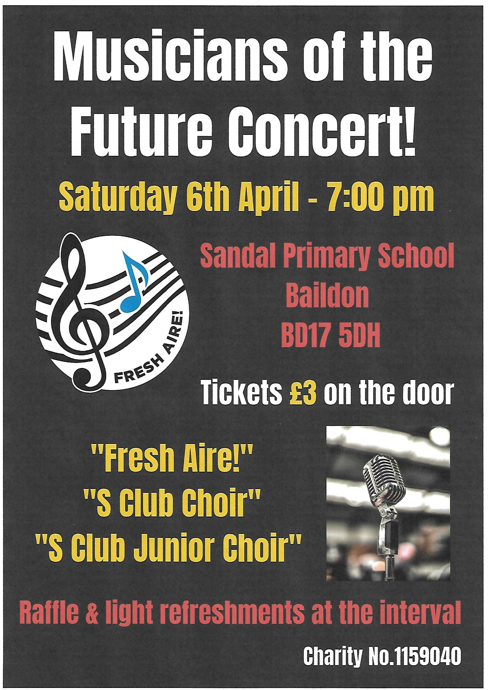 Musicians of the Future Concert!