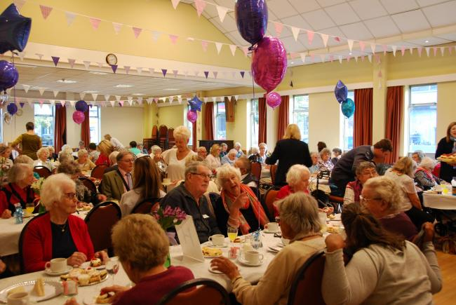 The annual over 90s party