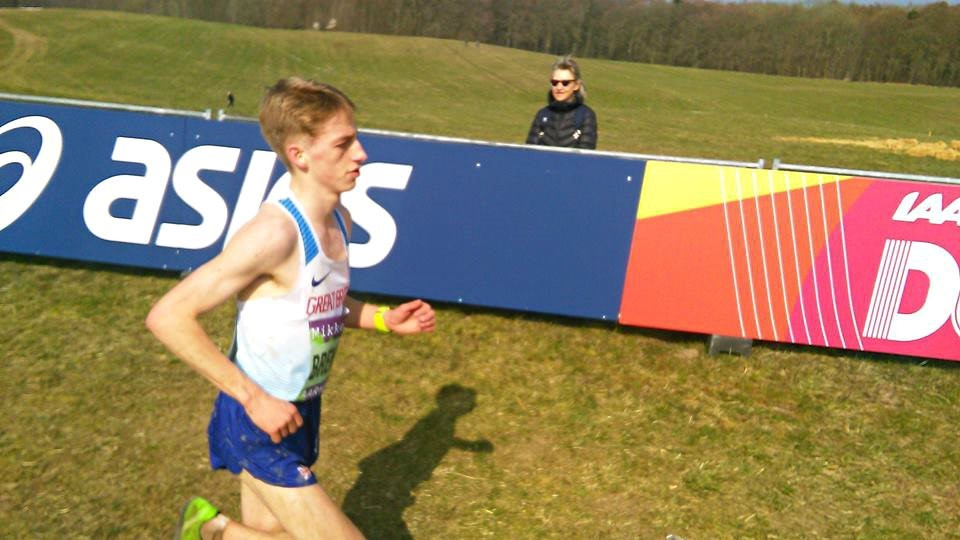 Ilkley Harriers's runner Euan Brennan represented Great Britain at the World Cross Country Championships. Picture: Rob Little.