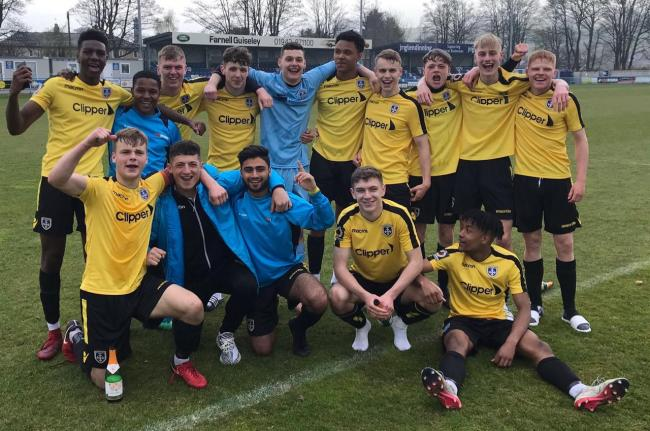 Guiseley Academy won their second successive National League Under-19 Alliance title