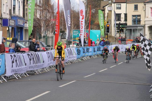 Alex Beldon had two wins for Ilkley Cycling Club at the weekend