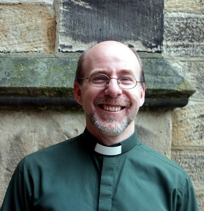 Vicar of St John's Church, Yeadon - the Rev Richard Walker