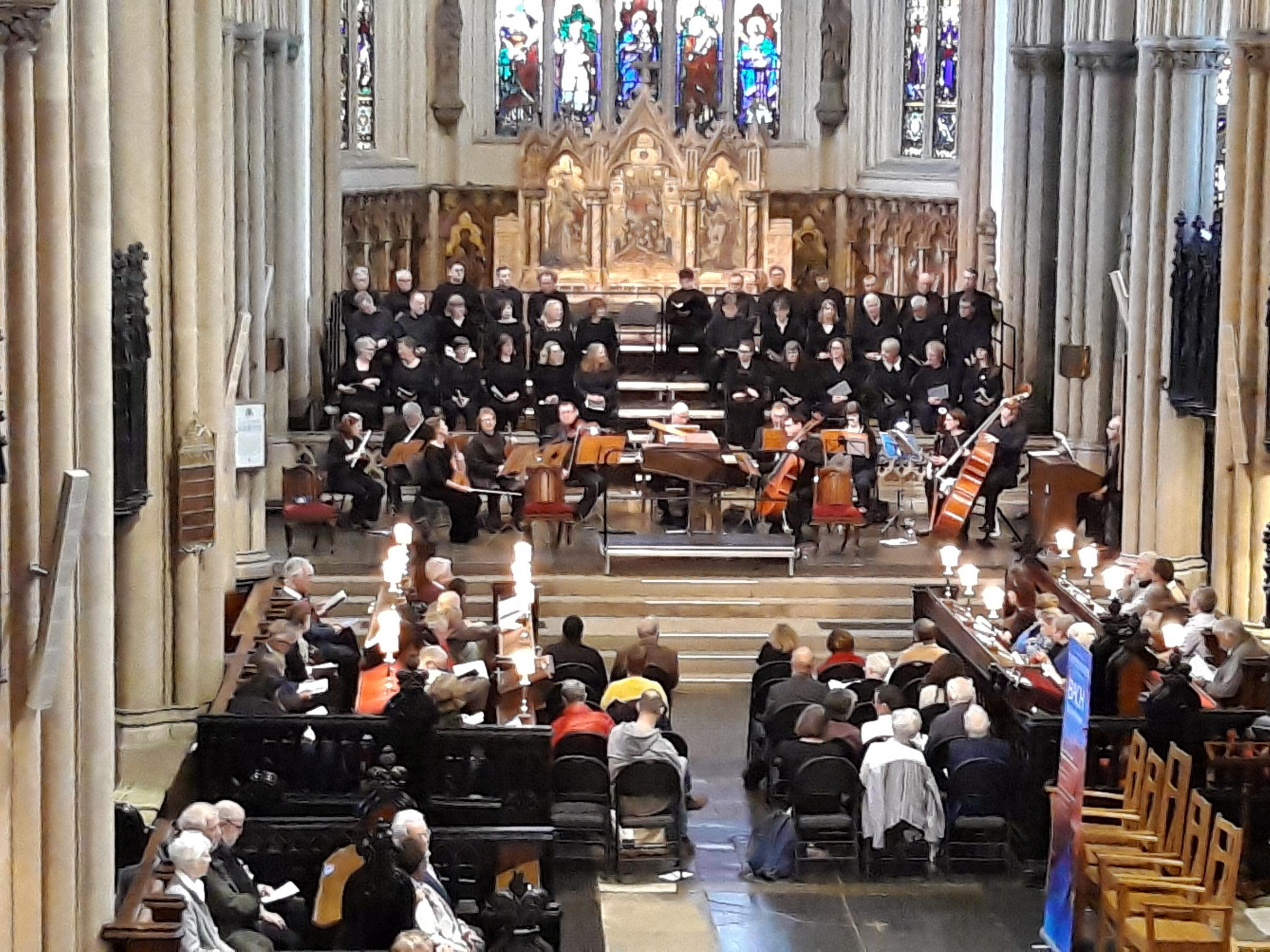 St John Passion at Leeds Minster on Good Friday, 2019