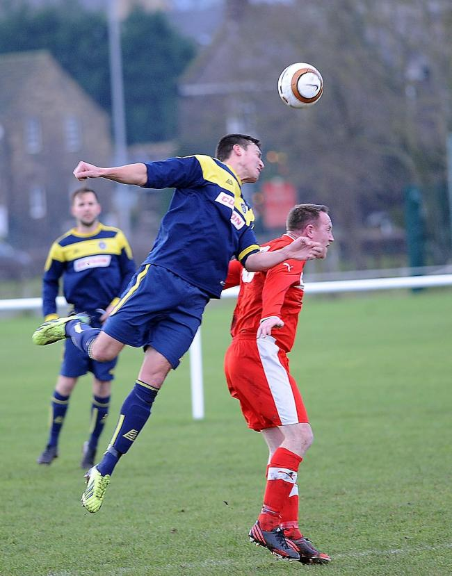 Darren Munday headed in Ilkley Town's only goal