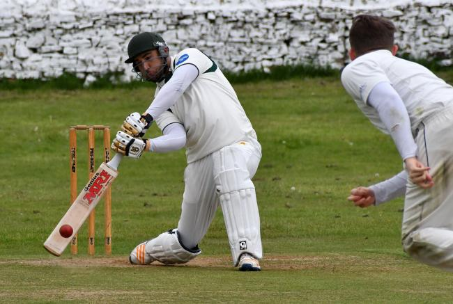 Moa Shahnawaz bats for Crossflatts, who have failed to enter the Aire-Wharfe League in 2020. Picture: Richard Leach