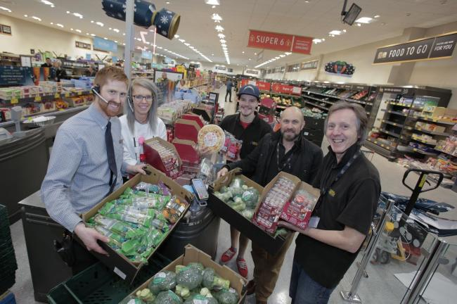 Aldi is donating surplus food to good causes