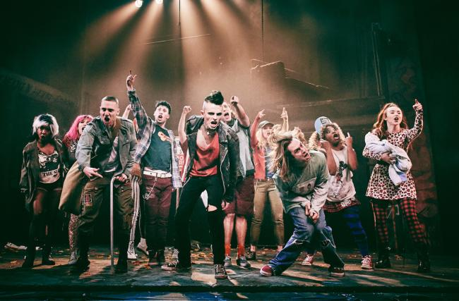A scene from American Idiot. Picture by Mark Dawson Photography