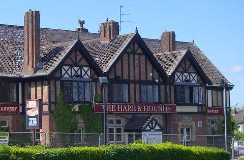 Demolition work starts on the Hare and Hounds in Menston