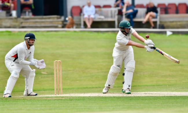 Harry Smallwood had a knock of 35no to lead Olicanian to victory in the Awards Galore Cup on Sunday. Picture: Andy Garbutt