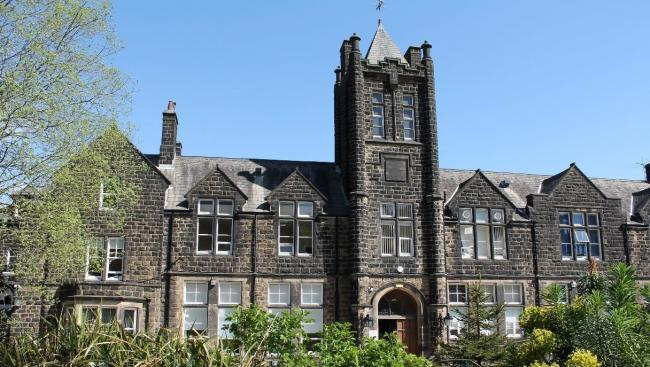 Ilkley Grammar School where 32 per cent of teacher assessed A level grades have been downgraded