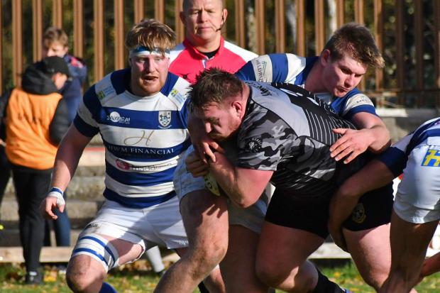 Otley's Jason Moss was selected in Talk Rugby Union's National League Two North Team of the Season. Picture: Richard Leach