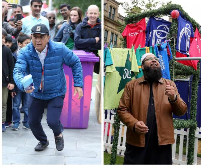 Sunil Gavaskar was at the launch of the ICC Men's Cricket World Cup fanzone in Manchester. He was a World Cup winner in 1983.